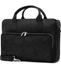 czarna torba męska na laptop 15,6 brodrene