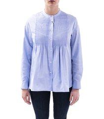 max mara weekend teatino cotton blouse