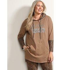 sweatshirt miamoda camel
