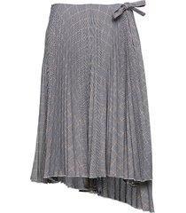 dixie skirt rok knielengte grijs birgitte herskind