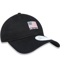 bone aba curva new era mini flag masculino