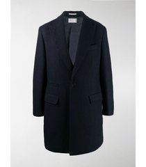 brunello cucinelli fitted two button coat