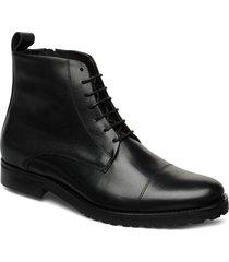 nano lace up boot snörade stövlar svart royal republiq