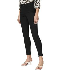 nydj ami zip cuff ankle skinny jeans, size 18 in black rinse at nordstrom