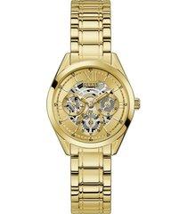 reloj guess clear cut gw0253l2 - dorado