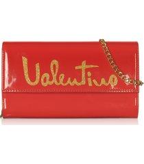 valentino by mario valentino designer handbags, marimba signature clutch