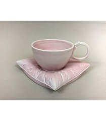 filiżanka na poduszce m - różowa