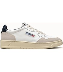 sneakers autry low colore bianco blu