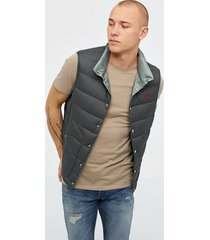 polo ralph lauren denver down fill vest jackor combat