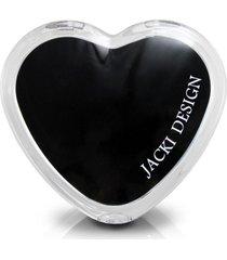 (espelho) espelho de bolsa coraã§ã£o preto - preto - feminino - dafiti