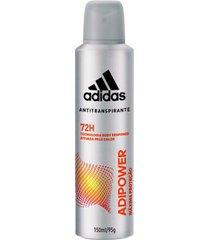 desodorante adidas antitranspirante adipower masculino 150ml