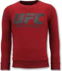 sweater local fanatic sweater - ufc championship trui -