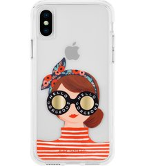 case-mate gorgeous girl iphone x/xs/xs max & xr case -