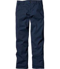pantaloni chino elasticizzati slim fit (blu) - bpc bonprix collection