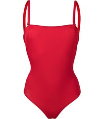 l'autre chose stretch-jersey swimsuit - red