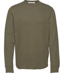 parmo t-shirt ls 11409 t-shirts long-sleeved groen samsøe samsøe