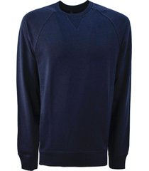 fay blue cotton blend sweatshirt