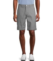 bonobos golf men's highland check golf shorts - grey - size 34
