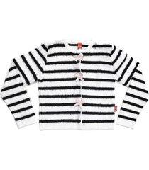 casaco infantil jokenpô tricot laços feminina