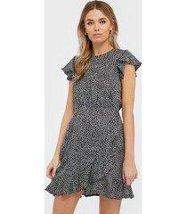 ax paris short sleeve mini dress loose fit