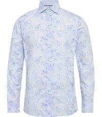 butas paisley – soft skjorta casual blå eton