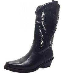 botas negra marta sixto