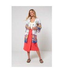 kimono est floral mexi est floral mexi - oh, boy! sacada feminino