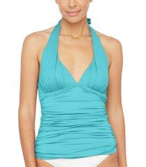 la blanca halter tankini top women's swimsuit