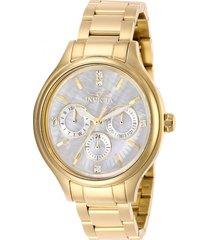 reloj invicta 28654 oro acero inoxidable