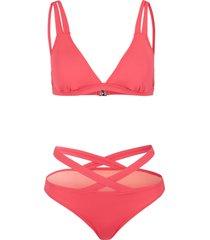 bikini  sostenibile (set 2 pezzi) (fucsia) - bodyflirt
