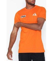 fila hoyt tee t-shirts & linnen orange