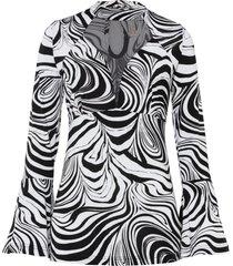 maglia a maniche lunghe con mesh (nero) - bodyflirt boutique