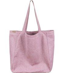 lazy bag torba różowa na zamek / vegan / eco