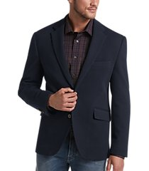 joseph abboud navy modern fit casual coat