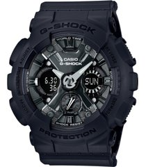 g-shock women's analog-digital black resin strap watch 46mm gmas120mf-1a