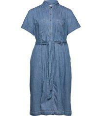 claire dresses shirt dresses blå violeta by mango