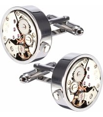 uomo argento gemello meccanico orologio modello gemelli abito da sposa completo camicia accessori