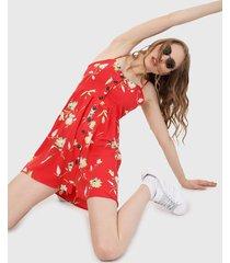 vestido rojo-amarillo-blanco active