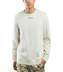 guess men's fleece logo sweatshirt