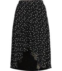 dotta marilyn skirt knälång kjol svart bruuns bazaar