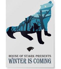 plakat winter is coming