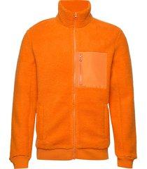 m oripi zj sweat-shirt tröja orange peak performance