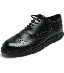 zapato de amarrar negro pierre cardin pc7245-a