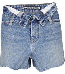 alexander wang shorts bite flip