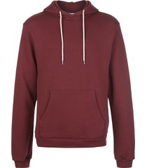 john elliott beach relaxed-fit hoodie - red