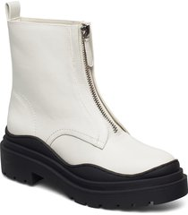wenzol shoes boots ankle boots ankle boot - flat creme mango