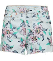 501 high rise short hella bloo shorts denim shorts blå levi´s women