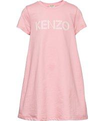 logo jg 16 jurk roze kenzo