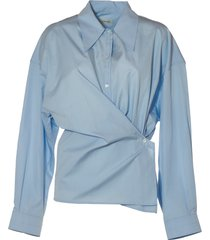 lemaire woman twisted shirt