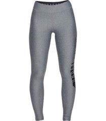 leggings deportiva mujer under armour graphic leg-gris